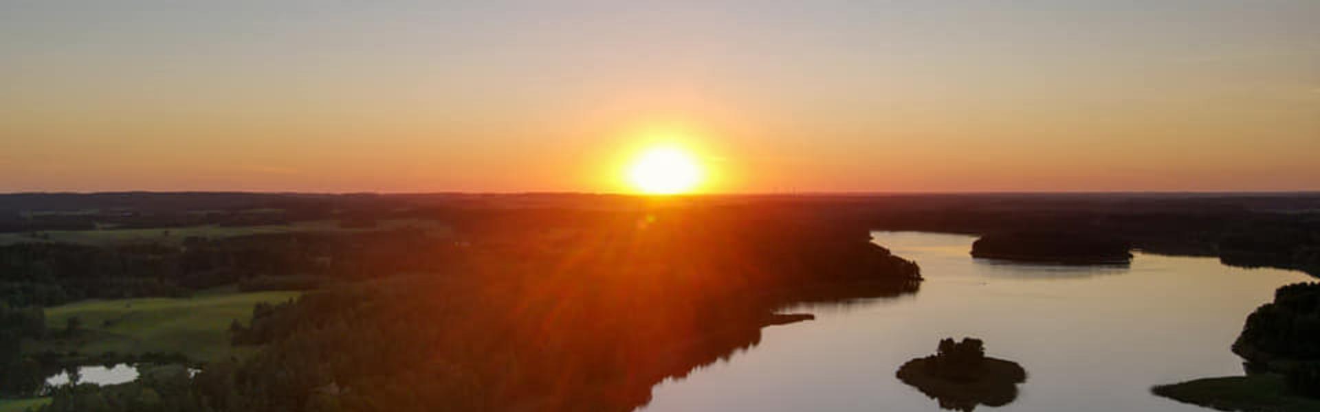 słońca zachód